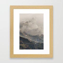 The Alps 3 Framed Art Print