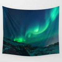 aurora Wall Tapestries featuring Aurora by StayWild