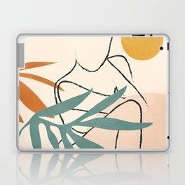 Minimal Line in Nature II Laptop & iPad Skin