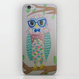 Lovely Owl iPhone Skin