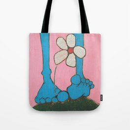 Footloose and Fancy Free Tote Bag