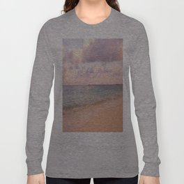 Dreamy Beach View Long Sleeve T-shirt