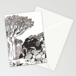 Quiver Tree & Rocks - Namibia Stationery Cards