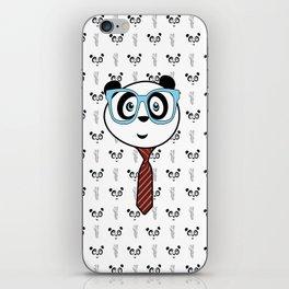 Panda Nerd iPhone Skin