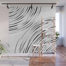 Black Circles Wall Mural