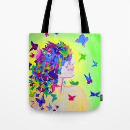 Flighty Thoughts Tote Bag