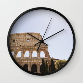 When In Rome II Wall Clock