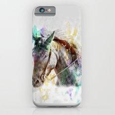 Watercolor Horse Portrait Slim Case iPhone 6s