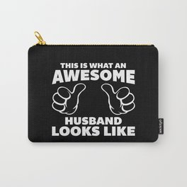 Awesome Husband Looks Like Quote Carry-All Pouch