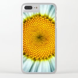 The Daisy Whorls I Clear iPhone Case