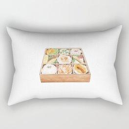 Japanese Bento   日式便当 Rectangular Pillow