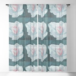 Four sections Sheer Curtain