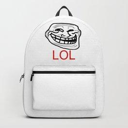 TrollFace - LoL Backpack
