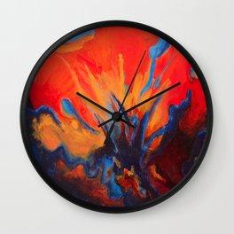 Explosive Dialogue Wall Clock