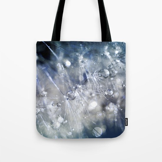 New Year's Blue Champagne Tote Bag