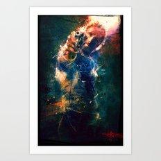 TwD Rick Grimes. Art Print