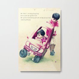 Children stuff Metal Print