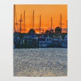 Titusville Sunset Poster