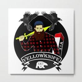 Yellowknife 2.0 Metal Print