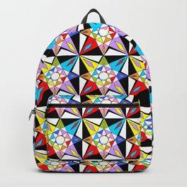 symetric patterns 81-mandala,geometric,rosace,harmony,star,symmetry Backpack