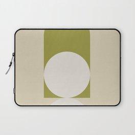 Contemporary Composition 05 - Golden Lime Laptop Sleeve