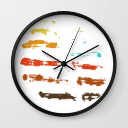 Whispering Leaves III Wall Clock