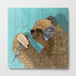 Sloth Song Metal Print