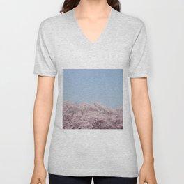 cherry blossum Unisex V-Neck