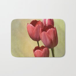 Spring Red Bath Mat