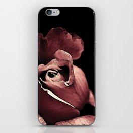 Rose bouton qui s'ouvre colors fashion Jacob's Paris iPhone Skin
