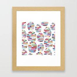 Funny Mirror ball  Framed Art Print