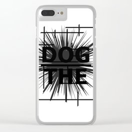 The Underdog Clear iPhone Case
