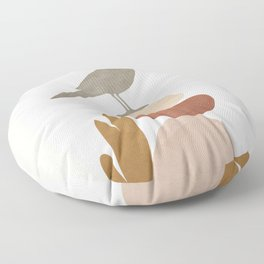 Cute Little Bird III Floor Pillow