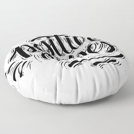 Positive Vibes Floor Pillow