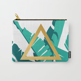 Leafs and triangle Carry-All Pouch