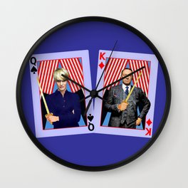 Frank and Claire - An Odd Pair Wall Clock