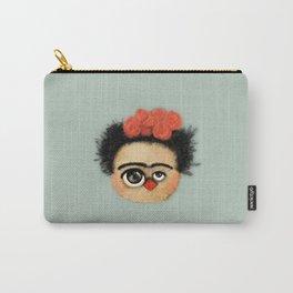 """""""Pies para qué los quiero si tengo alas para volar""""  (Frida Kahlo) Carry-All Pouch"""