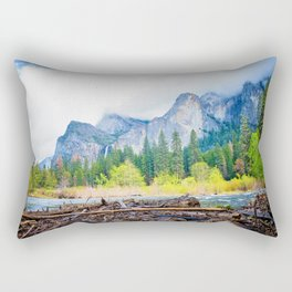 Yosemite Mood Rectangular Pillow