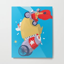 Gonzo the Great Metal Print