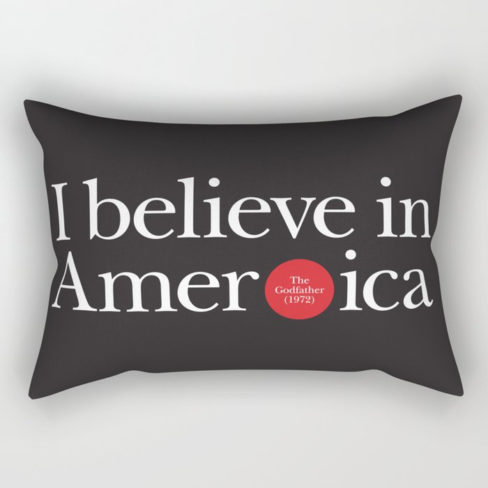 Opening lines - The Godfather Rectangular Pillow