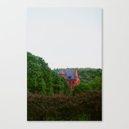 House in the Trees Canvas Print