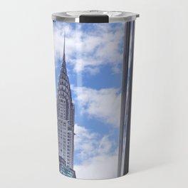 Chrysler Building Reflections in Midtown Travel Mug