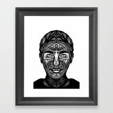Mina Harker Framed Art Print