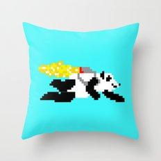 jetpack panda. Throw Pillow