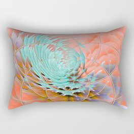 Labyrinth of Colours Rectangular Pillow