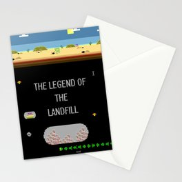 The Landfill Legend Stationery Cards
