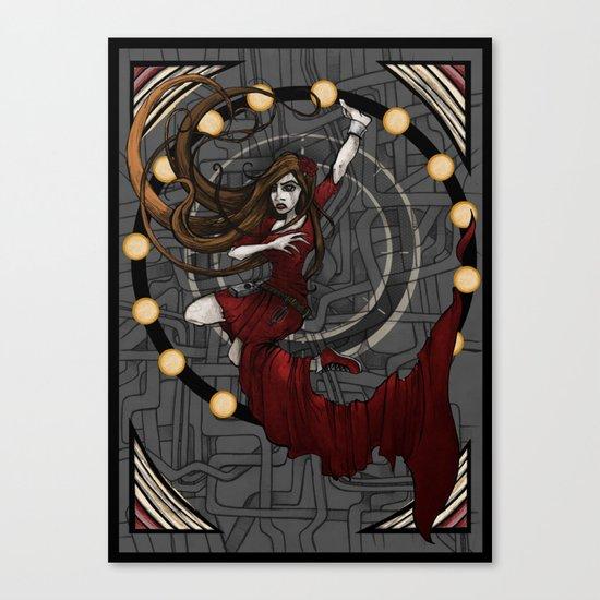 The Human Inside Canvas Print