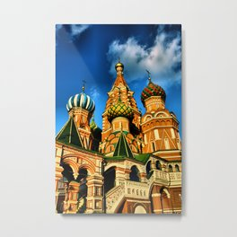 Moscow, Russia. Metal Print