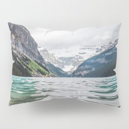 Lake Louise | Alberta Landscape Photography Pillow Sham
