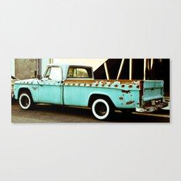 Rusty Dodge (2) Canvas Print